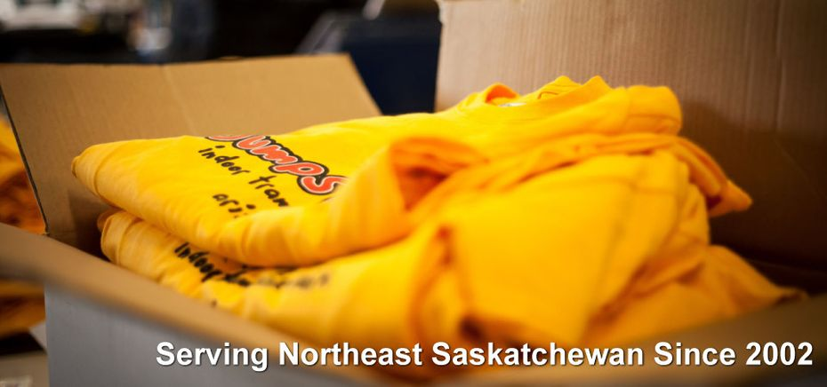 Box of T-Shirts | Serving Northeast Saskatchewan Since 2002