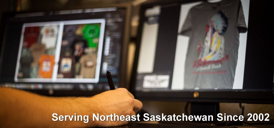 T-Shirt design | Serving Northeast Saskatchewan Since 2002